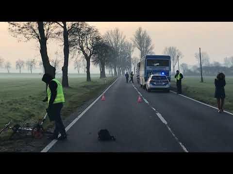 Wideo: Śmiertelne potrącenie rowerzysty pod Ścinawą