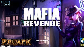 Mafia Revenge - Real-Time PvP by 4:33 (ANDROID/iOS/iphone/ipad)Start playing here: Android: https://play.google.com/store/apps/details?id=com.ftt.mafiarevenge.aosiOS: https://itunes.apple.com/ph/app/mafia-revenge-real-time-pvp/id1133551682?mt=8►►► SUBSCRIBE PROAPK FOR MORE GAMES : http://goo.gl/dlfmS0 ◄◄◄Guns. Cars. Money. Power. Revenge.Do you have the guts to pull that trigger?#Draw Your Guns for a Real-time 1-on-1 Shootout!- Are you the next Don of Cali City? Remember, power is never given; it is earned!- Take down real players around the world in this real-time 1-on-1 shooting match!#The Revenge Has Begun!- The city of greed and outlaw, Cali City, has been their territory for longer than anyone can remember. Here, everything began.- Earn their respect to be One of Them, and take over the Mafia and the Cali City!- Be what you are born to be! Reclaim what they once took from you!#Blood is Thicker than Water – Become the greatest Family in Cali City!- Form a Family with your friends, and challenge each other to a duel to see who's best!- Earn special gifts and unlock access to heavier and deadlier guns by joining a Family.#Keen for Some Primo Action?- Enjoy stunning graphics for a blood-rushing street shootout action, while the jazz bars and street views take you right back to the Swinging Sixties.#Build Your Secret Arsenal!- From classic to sleek, handy to devastating, collect & customize cars and guns to show them off in battle!- How does your garage look? Do you have what it takes for the 1-on-1 heads up?Mafia Revenge Official Fan Pagehttps://www.facebook.com/mafiarevenge/Languages Supported: English, Korean.** NOTE : Mafia Revenge has been relased July 13th at Canada, Australia, Korea, Malaysia, Philippines, Singapore. Global launching date will be updated in short.  Total Size : 660 MB✔ LOOKING FOR MORE RPG GAMES?  ►►► https://goo.gl/wqCfuv ◄◄◄►►► MMORPG Playlist : https://goo.gl/nky4Vl ◄◄◄----------------------------------------------------SUBSCRIBE PROAPK TO