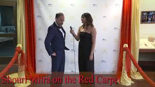 Shouri Mitra on The Foundations TV Red Carpet