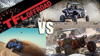 2. Compared: 2019 Honda Talon vs Honda Pioneer 1000LE vs RZR XP1000 vs Yamaha YXZ 1000
