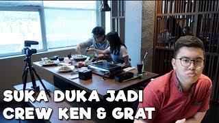 Video BEGINI RASANYA JADI CREW KEN & GRAT?? || BTS Ken & Grat episod Waki BBQ dan makan bareng LTGN MP3, 3GP, MP4, WEBM, AVI, FLV November 2018