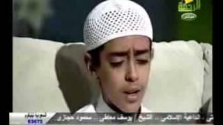 تلاوة رائعة جدا للطفل محمود حجازى من سورة النمل