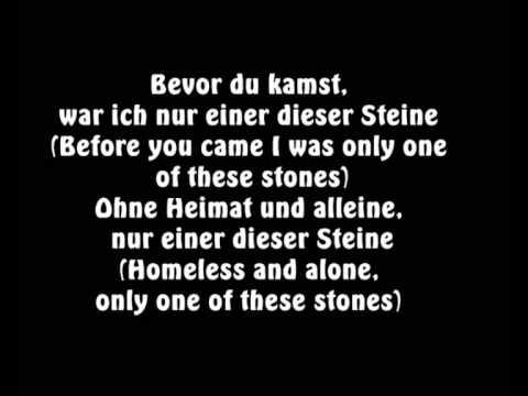 Video Sido feat. Mark Forster - Einer dieser Steine englische übersetzung! [LYRICS/ENGLISH] download in MP3, 3GP, MP4, WEBM, AVI, FLV January 2017