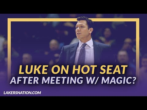 Video: Lakers News Feed: Is Luke Walton On the Hot Seat After Magic