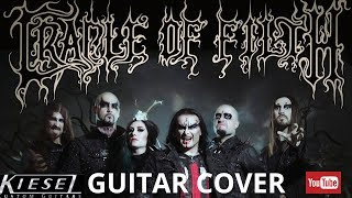 Video Cradle Of Filth - Her Ghost In The Fog [ Guitar Cover ] By: Paul