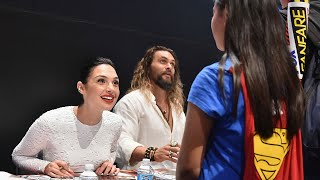 More from Entertainment Tonight: http://bit.ly/1xTQtvw  The viral video of the two meeting at San Diego Comic-Con will make your heart melt!