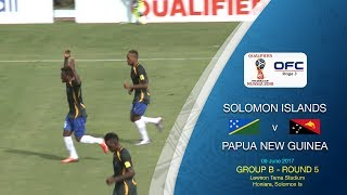 OFC TV Production - Copyright OFC TV © June 2017. A 3-2 home ground victory for Solomon Islands over Papua New Guinea in...