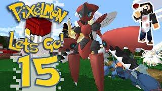 Pixelmon: Let's Go! - EP15 - MEGA EVOLUTION TEAM! (Minecraft Pokemon) #PixelmonLetsGo