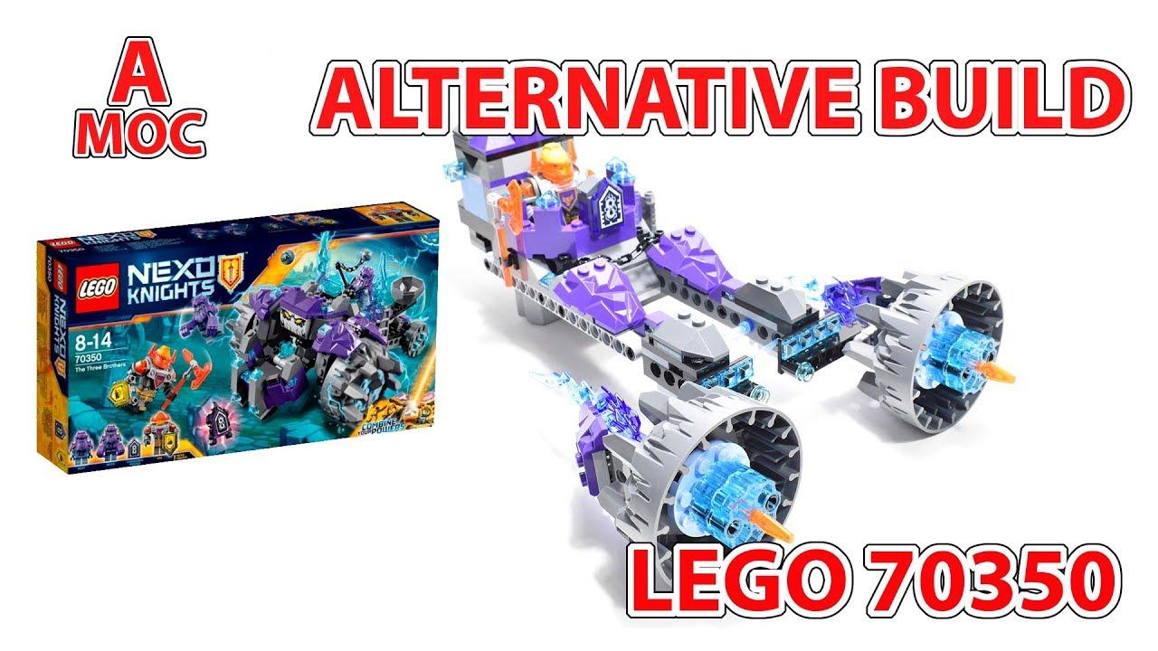 LEGO 70350 Axel`s POD Racer Nexo Knights Alternative build DIY [A MOC]
