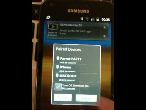 Video of Smart Bluetooth Widget