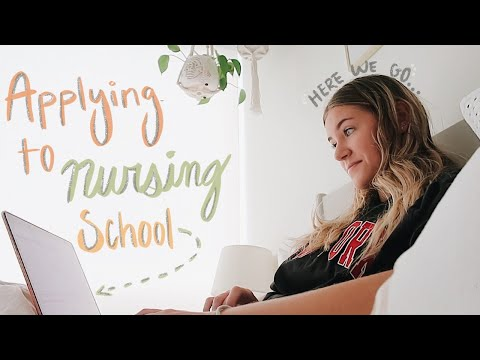 Apply to Nursing School w/ me + my tips & tricks to get motivated