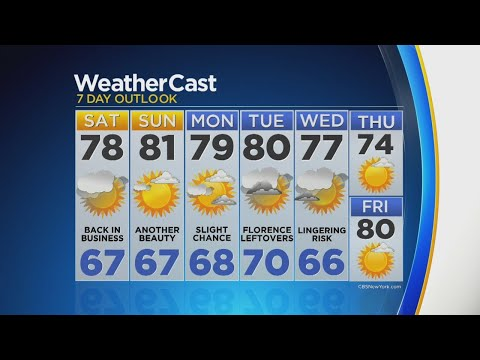9/15 CBS2's Morning Weather