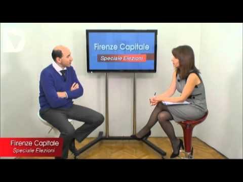 FIRENZE CAPITALE - speciale elezioni - interviste ai candidati al consiglio comunale di Firenze per le amministrative 2014.