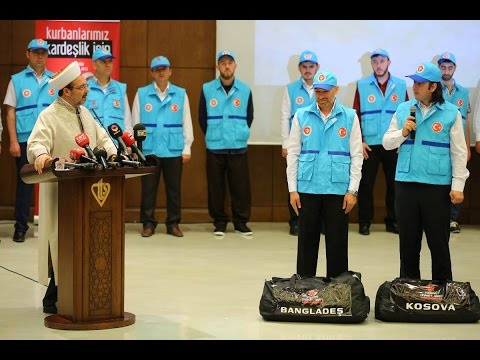 """""""TDV 2015 vekaletle kurban kesim programı için ekiplerimiz hazır"""""""