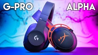 Logitech G PRO vs HyperX Cloud Alpha - $99 Gaming Headset BATTLE!