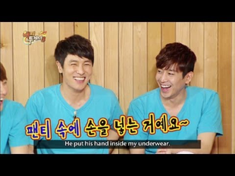 Shinhwa - Happy Together - Shinhwa, Heo Young Saeng, & Choi Hui! (2013. 06. 05) Join Yu Jaeseok as head leads a cast of hilarious and eccentric celebrities MCs! On thi...