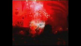 Feuertöpfe und Bühnensonne