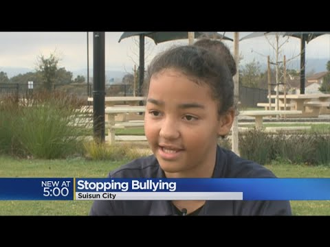 Girl Raising Funds For Victims Of Bullying In Suisun City