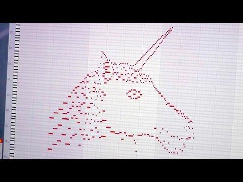 Crean música a partir del dibujo de un unicornio y suena sensacional