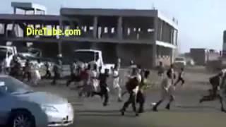 Ethiopian Immigrants in Saudi Arabia Running away from Police