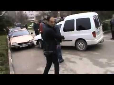 Украина. Оборона Севастополя останавливает провокаторов-фашистов (09.03.2014)