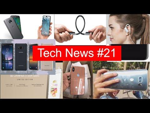 Tech News #21 OnePlus 5 Gold, Sharp Aquos S2 launched, Mi 5X in India, Mi Note 3, MIUI 9, U Flex