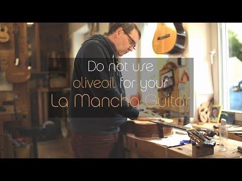 La Mancha guitar - How to care