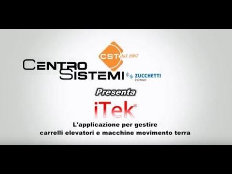 iTek, l'applicazione per gestire carrelli elevatori e macchine movimento terra