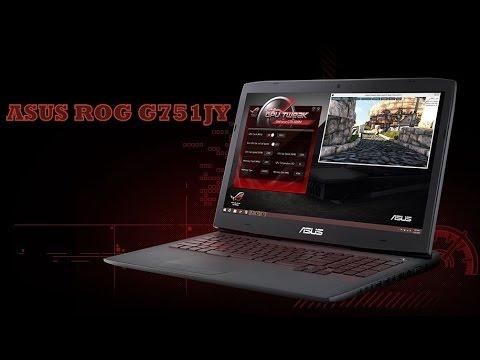 Обзор игрового ноутбука ASUS ROG G751JY