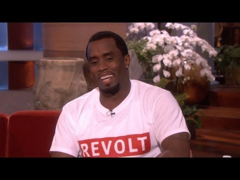 Diddy's Brave Confession on Ellen: I Was a Bed Wetter – Video