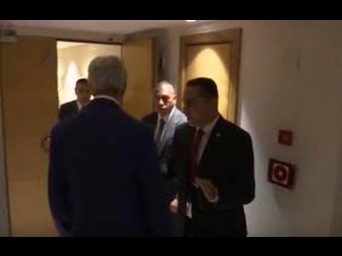 #فيديو : المتحدث بإسم الخارجية #الأمريكية يرد على قيام حارس #السيسي بسؤال #كيري عن هاتفه