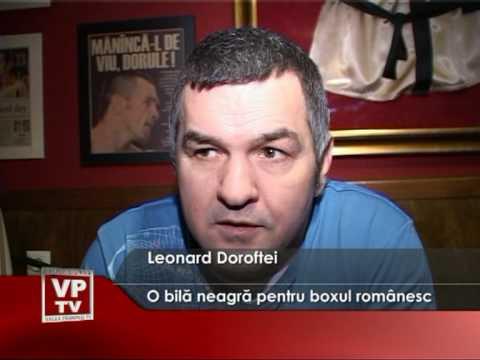 O bilă neagră pentru boxul românesc