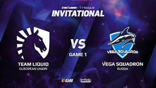 Team Liquid vs Vega Squadron, Game 1, SL i-League Invitational S2 LAN-Final, Group B