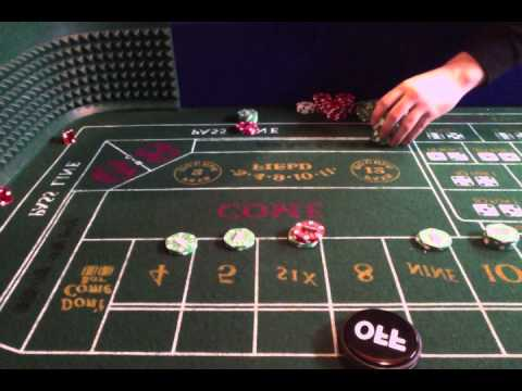 Craps Practice Session *MASSIVE ROLL*