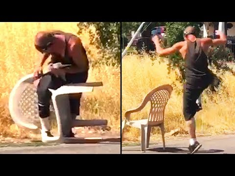 Ozzy Man s Commentary on Man vs Plastic Chair