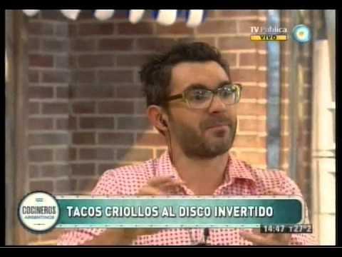 Tacos criollos al disco invertido Parte 1