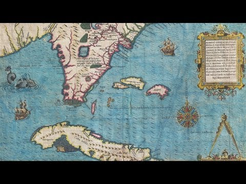 Florida Map History and Cartography (1591)