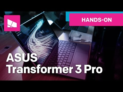ASUS Transformer 3 Pro hands-on