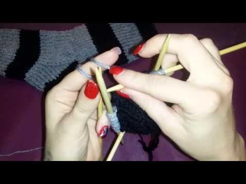 Socken stricken für anfänger teil 2