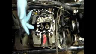 1. How to Rebuild Top End on Honda 350 ATV Part 2
