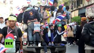 Thailand Women And Transvestites Rally Against PM
