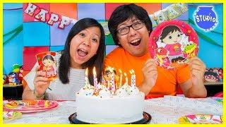 Video RYAN'S WORLD Happy Birthday Party + Surprise Toys!!! MP3, 3GP, MP4, WEBM, AVI, FLV Juni 2019