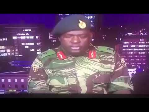 SUCCESSFUL MILITARY COUP IN ZIMBABWE | ARMY RULES ZIM NOV. 2017