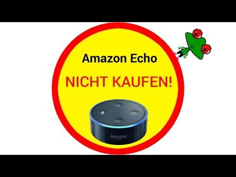 Amazon Echo: NICHT KAUFEN! (Deutsch)