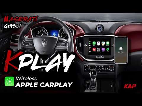 MASERATI GHIBLI Apple Carplay & Android AUTO