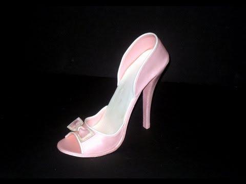 Fondant High Heel Shoe Tutorial (видео)