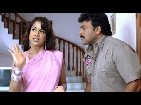 Jai Chiranjeeva Movie || Chiranjeevi And Smeera Reddy Funny Scene