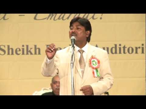 8. Tahir Faraz - Hamari Association Mushaira - Dubai 2012