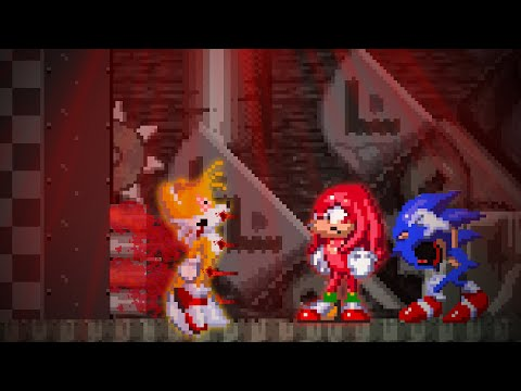 What happens in the duo of Tails and Knuckles if only Knuckles will survive? Sonic.exe SoH