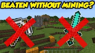 Video Tested: Can You Beat Minecraft Without Mining / Hitting? MP3, 3GP, MP4, WEBM, AVI, FLV Desember 2018